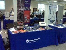 Stand at Activate Science event